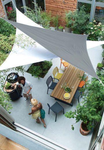 Kleine Gärten für Häuser und Wohnungen - Betsy Oliver #kleinegärten