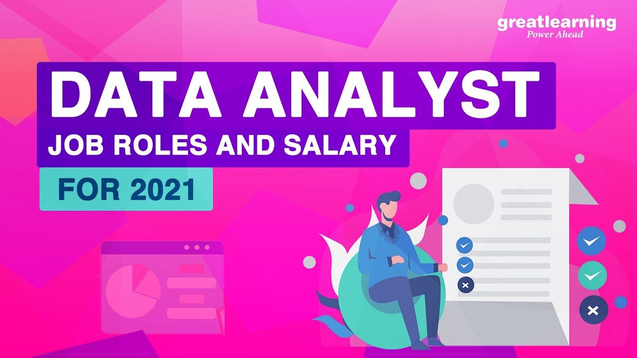 Data Analyst Job Roles And Salary For 2021 Data Analytics For Beginners Data Analyst Job Roles Data Analytics