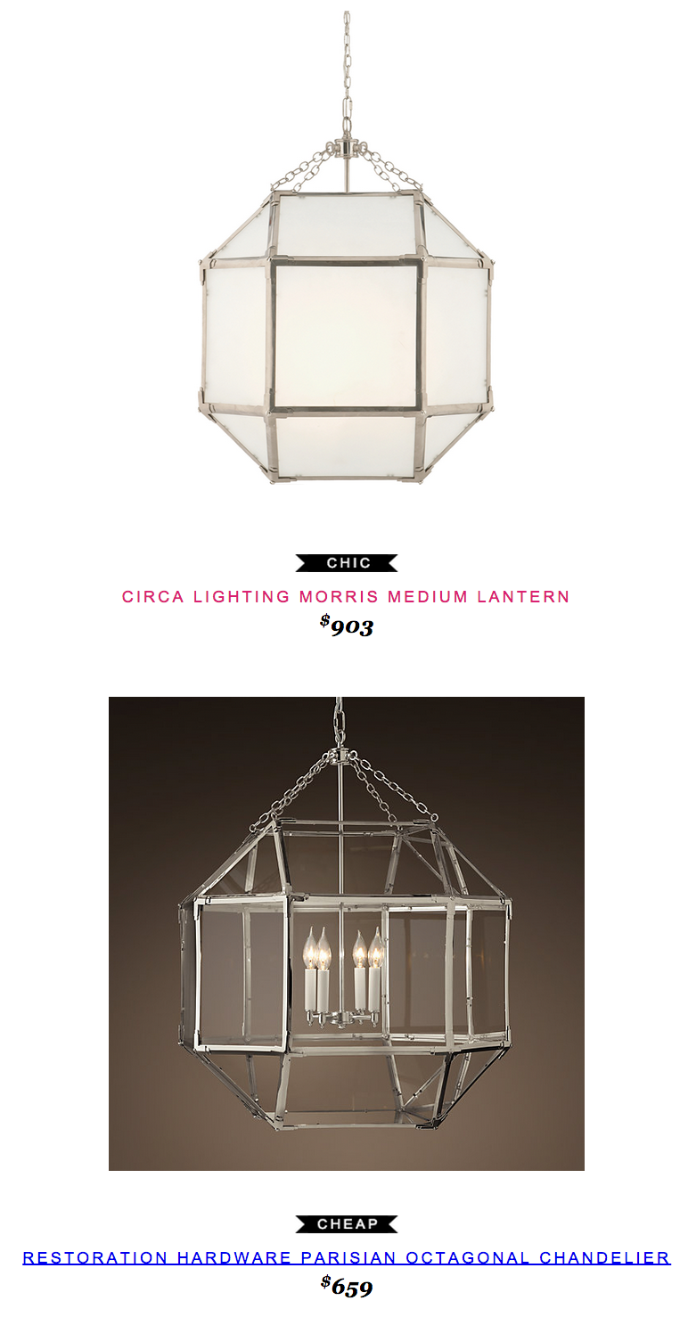 Circa Lighting Morris Lantern 903 vs Restoration