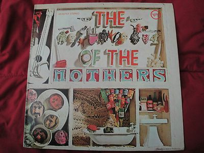 """The Mothers of Invention """"The XXXX Of The Mother"""" Original 1969 Verve Records EX"""
