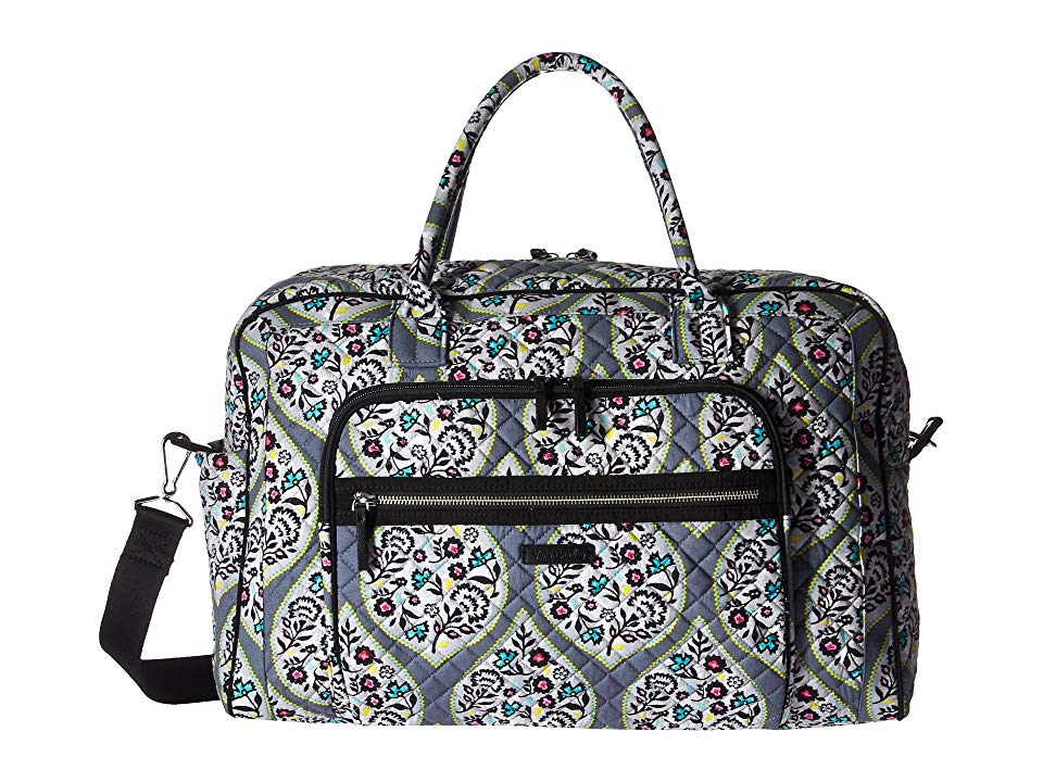 Vera Bradley Iconic Weekender Travel Bag (Heritage Leaf) Weekender Overnight  Luggage. Beauty and ingenuity are crafted into every Vera Bradley piece  adding ... 49c94e8f766ee