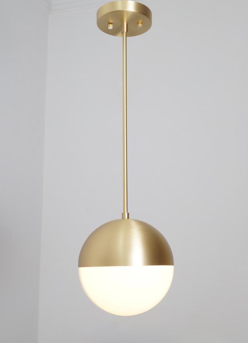 Modern Ceiling Pendant Light Modern Bolle Glass Ceiling Lamp Brass Handmade Ceiling Light Glass Globe Pendant Light In 2021 Modern Ceiling Ceiling Pendant Lights Modern Pendant Light