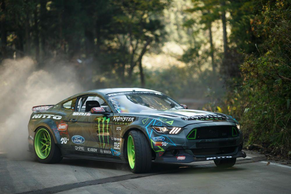 The Best Drift Battle Between Mustang RTR and