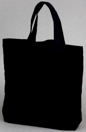 Black Book Bag Tote