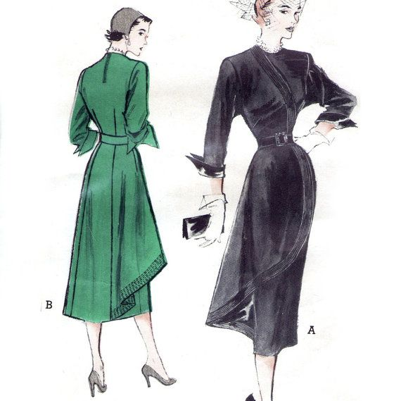 Butterick 5391, early 1950s