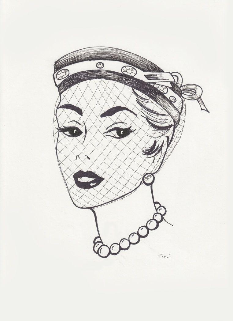 Vintage Hat Sketch Three by LunaLoveBunny on deviantART