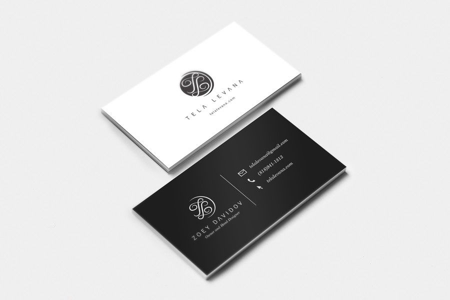 Create A Modern Logo And Business Card Design For Contemporary Fashion Brand Tela Levana By