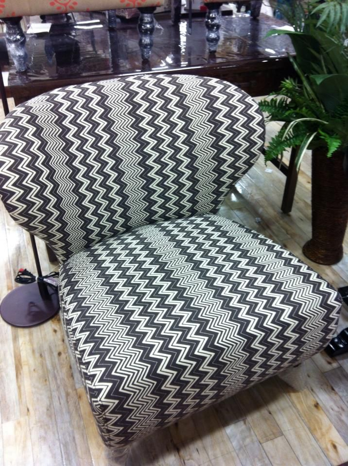 Zig Zag Dizzy Chair Homesense HomesenseZig ZagLiving RoomHomeProjectBlack