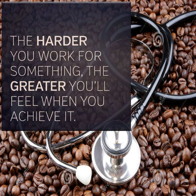 Your hard work and sacrifices will make a difference!