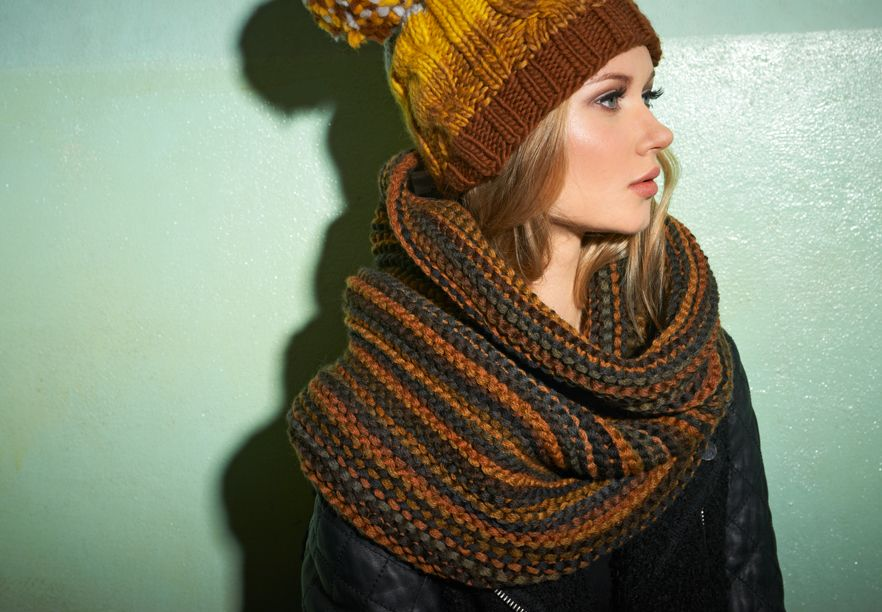 Free Knitting Pattern Snood Check Out The Easy Knitting Pattern Of