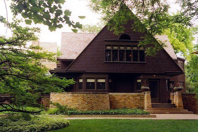 Frank Lloyd Wright House Studio Oak Park I Was A Volunteer