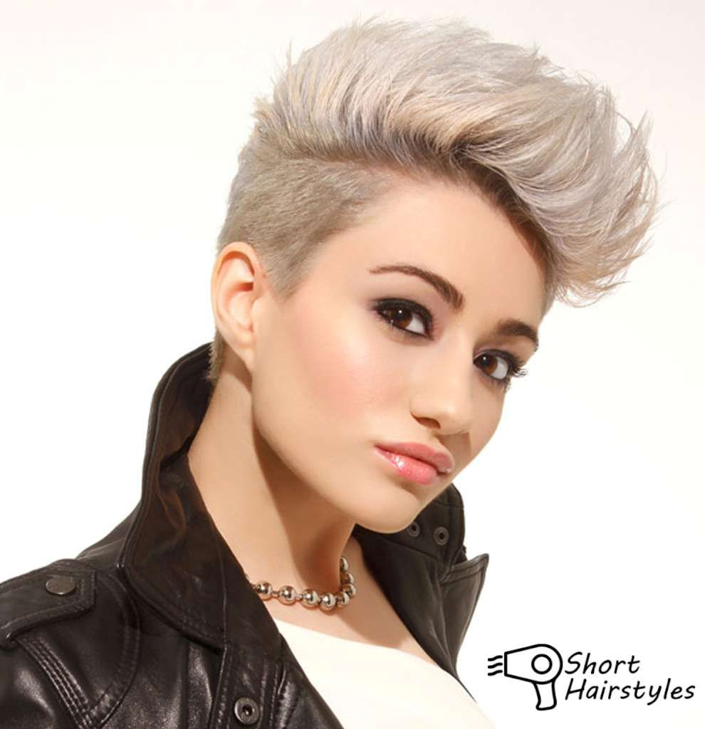 Short Hairstyles For Thick Hair Girls 2014  Short -4746