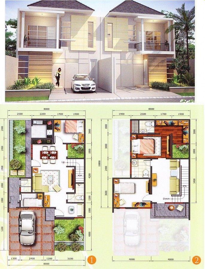 Pin Oleh Agneta Refinda Di Home Denah Rumah Arsitektur Rumah Rumah Minimalis