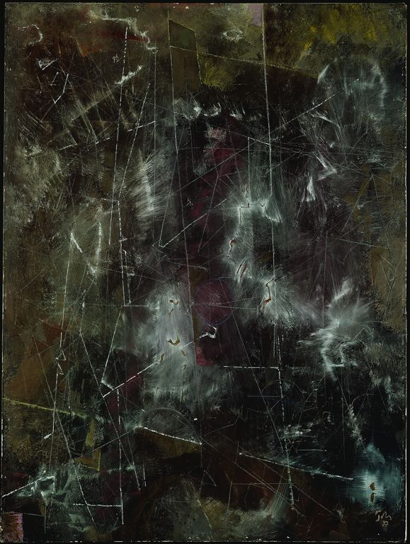 Above the Earth, 1953, Mark Tobey