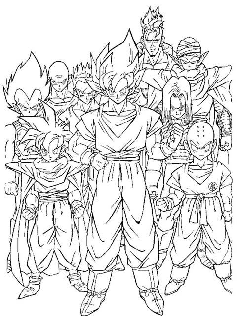 Dragon Ball Dragon Coloring Page Super Coloring Pages Coloring