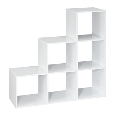 ClosetMaid Bookcase 104 3 2 1 Cube Organizer