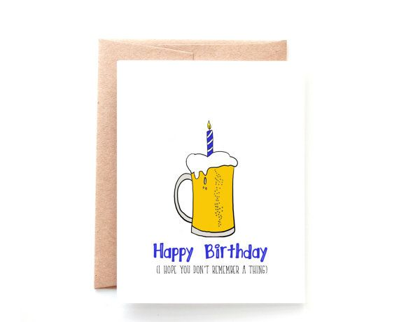21st Birthday Card Funny Birthday Card Beer Birthday Card Etsy Beer Birthday Cards Funny Beer Birthday Cards 21st Birthday Cards