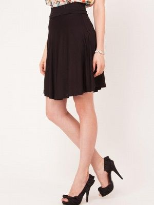 TIRAMISU CLOTHING Skater Skirt With Panelled Waist from KOOVS.COM