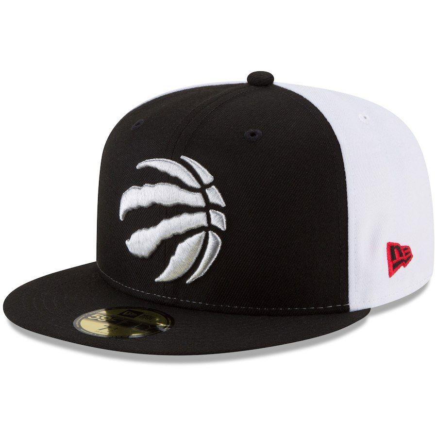 Men s Toronto Raptors New Era Black Y2K Pinwheel 59FIFTY Fitted Hat ... 413af338ac96