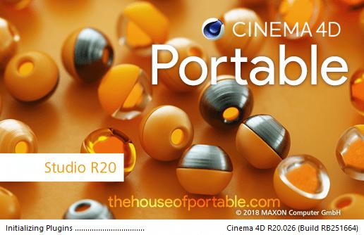 Cinema 4D Studio R20 026 Portable (Multilanguage)(Plugins