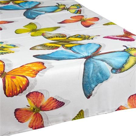 Butterfly Tablecloth, 140 x 150cm, $35 !!