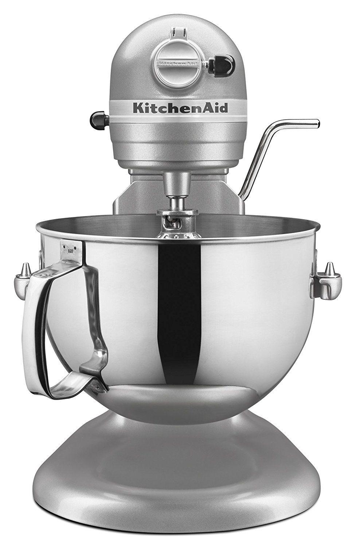 Silver Kitchen Aid Inside Cabinet Storage Kitchenaid Kl26m1xsl Professional 6 Qt Bowl Lift Stand Mixer Dining