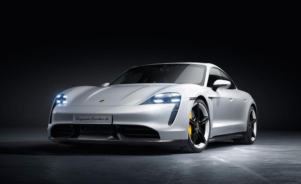 Electrification Takes Pole Position At Frankfurt Motor Show 2019 Porsche Taycan Electric Sports Car Porsche