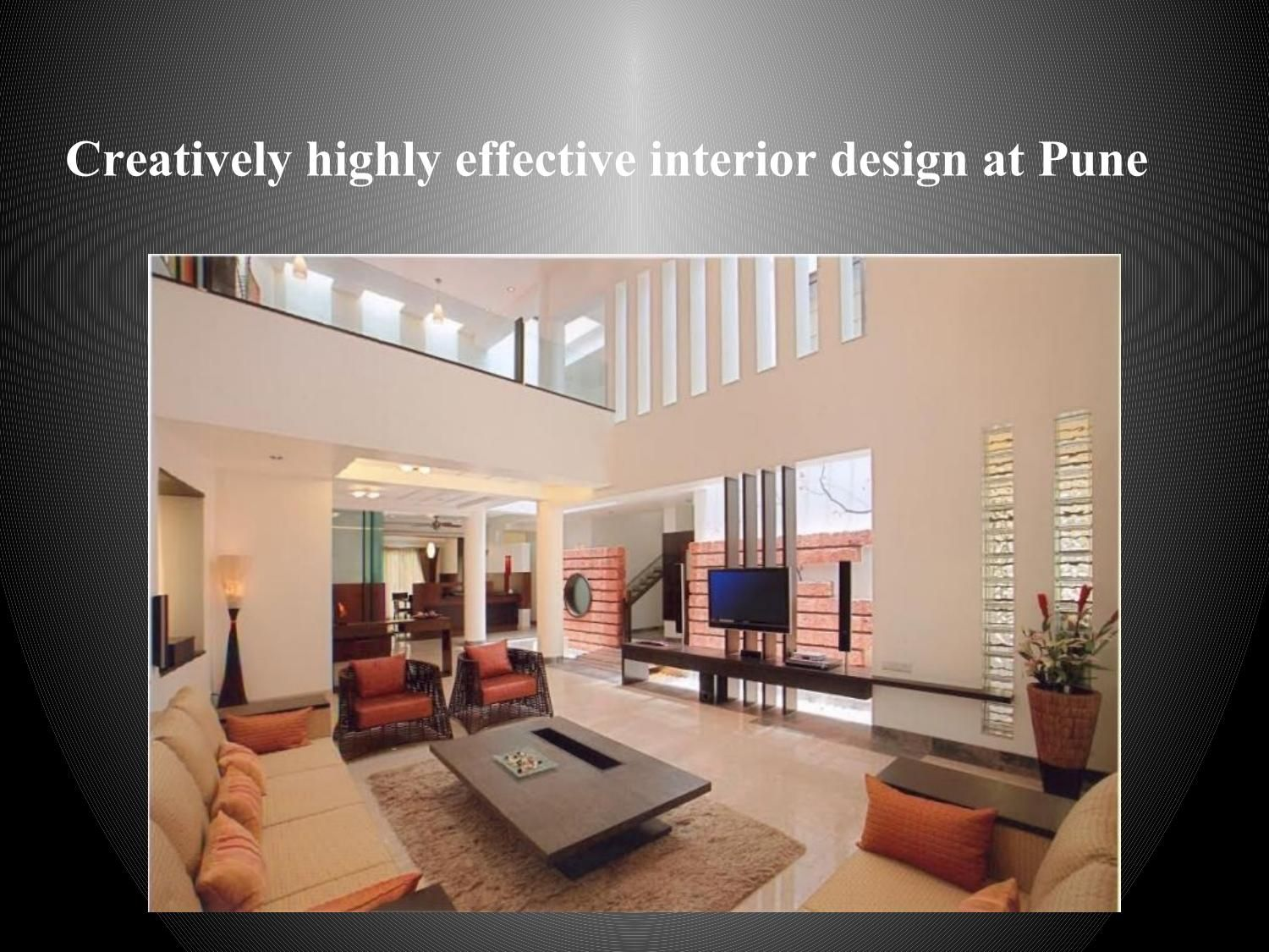 Creatively Highly Effective Interior Design At Pune Interior