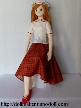Basic girl doll www.dollmaker.nunodoll.com - Tutorial and instructions are written by Runo