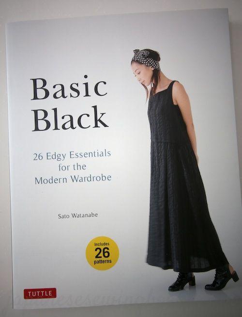 basicblack.  New japanese pattern book published in English.