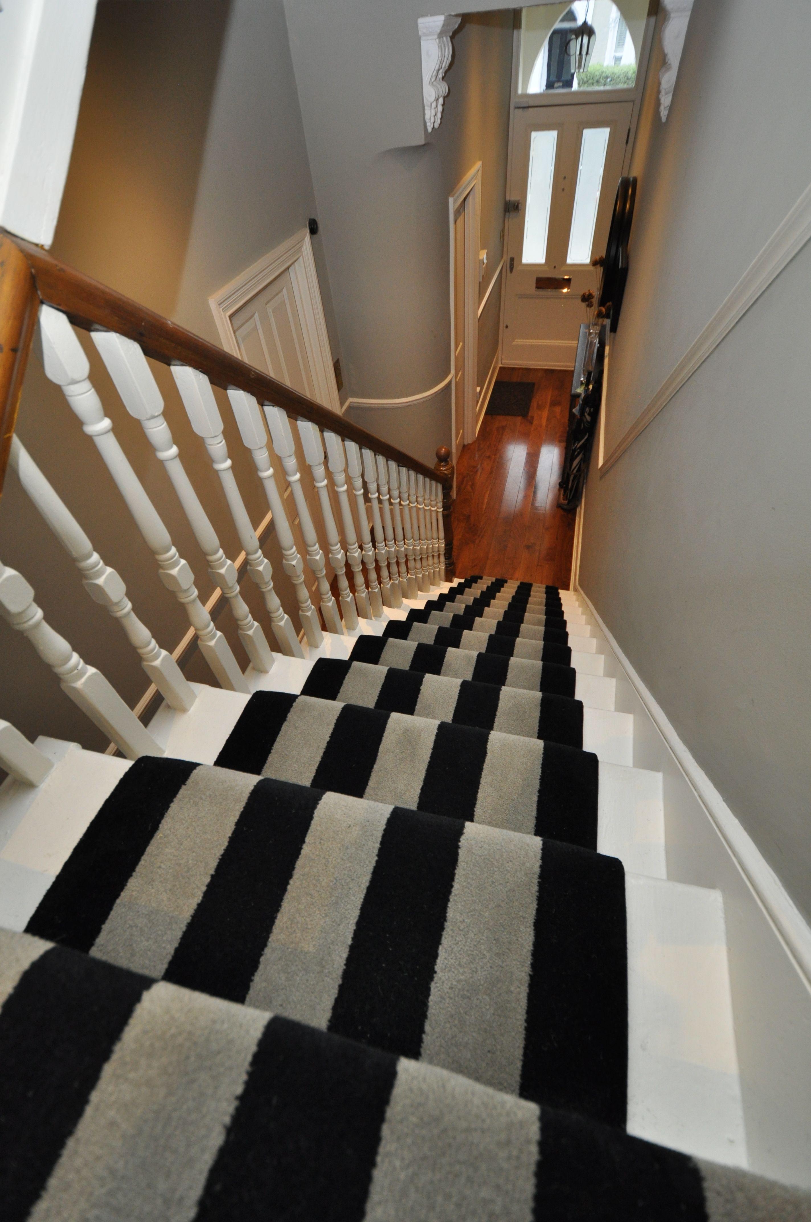 Best 5 003 Bespoke Carpet Bespoke Striped Carpet Stair Runners 640 x 480