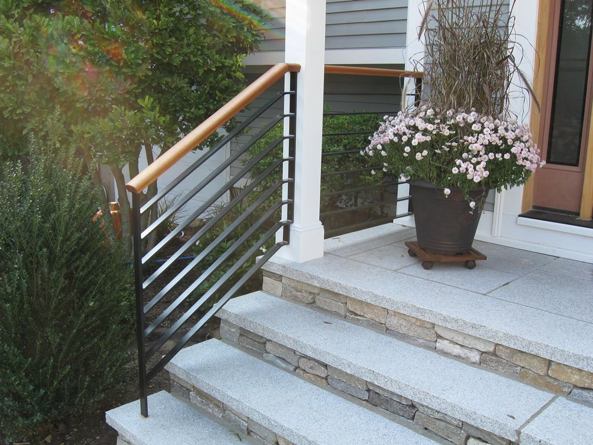 Best Colonial Iron Works Iron Exterior Handrails Exterior 640 x 480