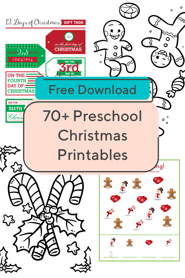 Get Your Preschoolers In The Holiday Spirit With This Festive Collection Of Printables Preschool Christmas Worksheets Christmas Worksheets Preschool Christmas [ 1102 x 735 Pixel ]