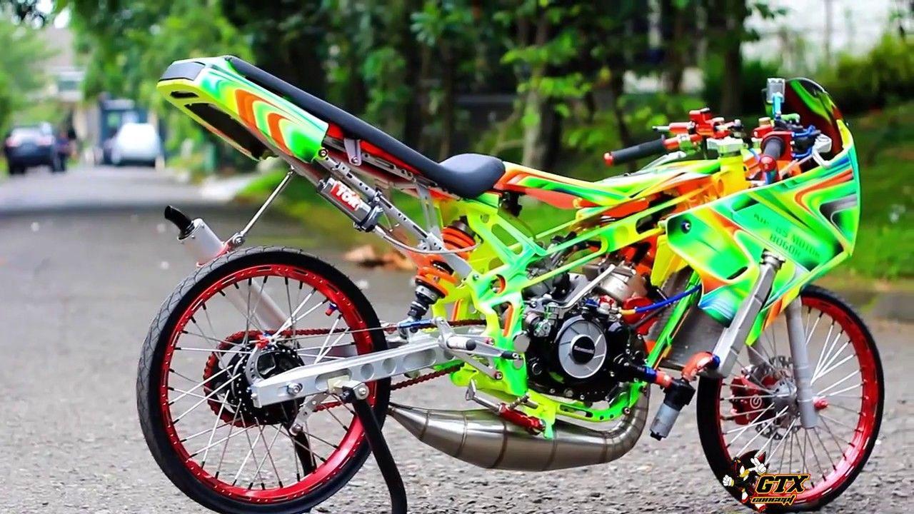 Video Kr150sp Thailand Thailook Style Drag Bike Harian Keren