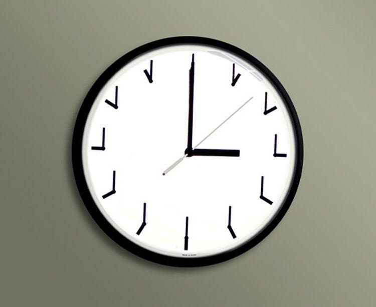 Orologio da parete moderno dal design molto particolari n.24