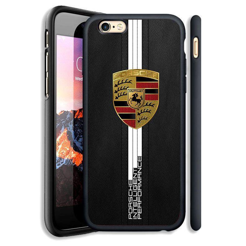 White Stripe Porsche Gold Print On Hard Case For Iphone 6 6s Plus 7 8 Plus Cover Unbrandedgeneric Summer2017 Autumn2017 Iphone Cases Porsche Porsche Boxter