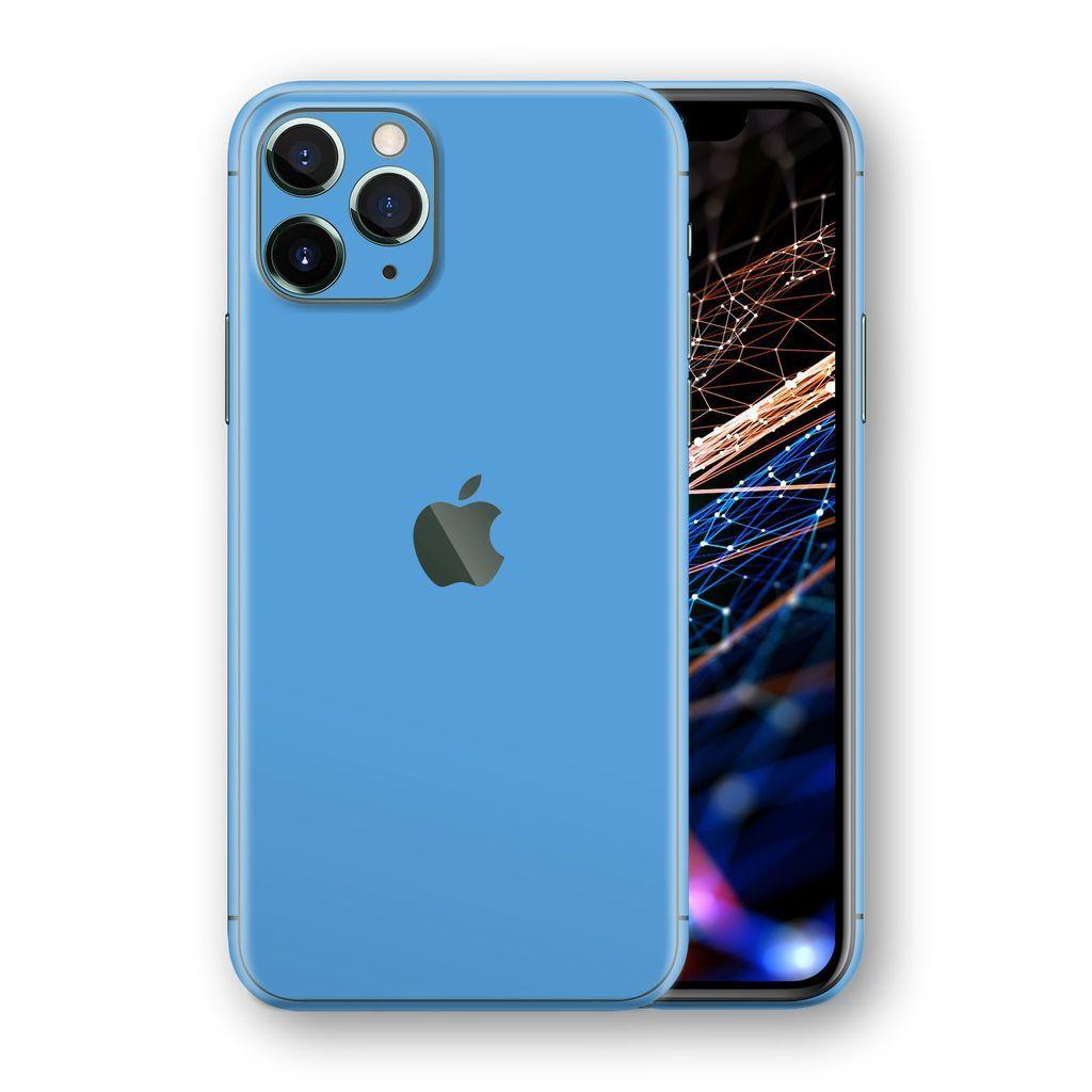 Iphone 11 Pro Glossy Sky Blue Skin Easyskinz Iphone 11 Pro In 2019 Iphone 11 Iphone Apple Iphone