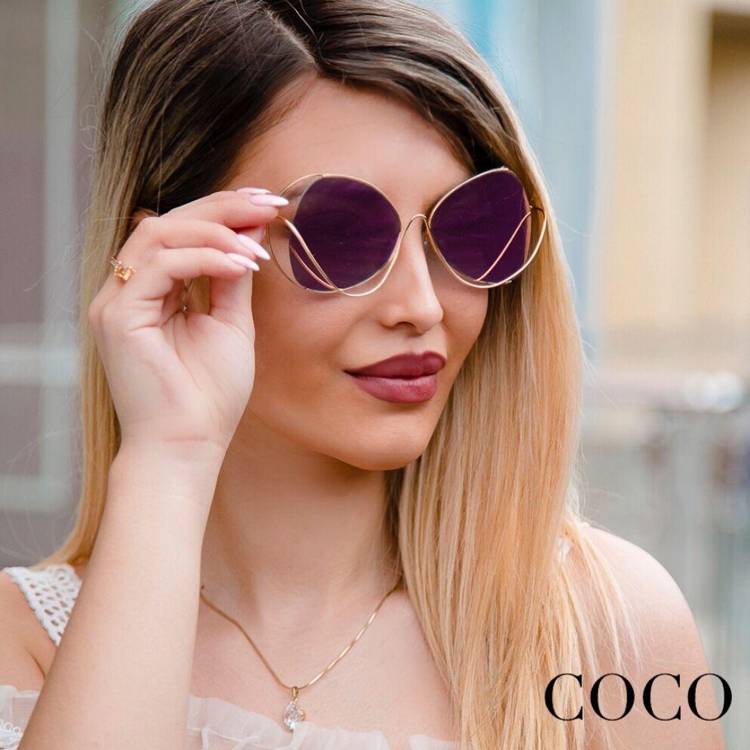 """1,478 Beğenme, 10 Yorum - Instagram'da Coco.Baku (@coco.baku): """"Как же лето без очков, особенно когда они такие стильные  sunglasses #очки #лето #море"""""""