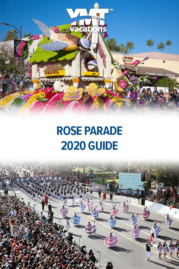 2020 Rose Parade Guide in 2020 Rose bowl parade, Trip