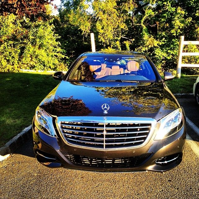 The all new s class in magnificent designo mocha black for Job at mercedes benz