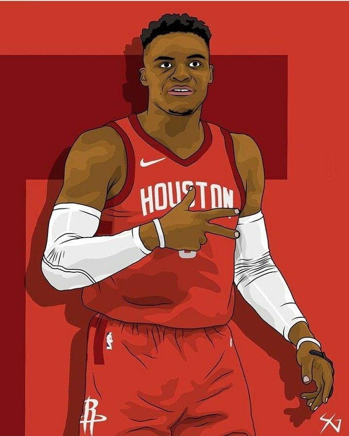 houston rockets Nba basketball art, Nba art, Basketball
