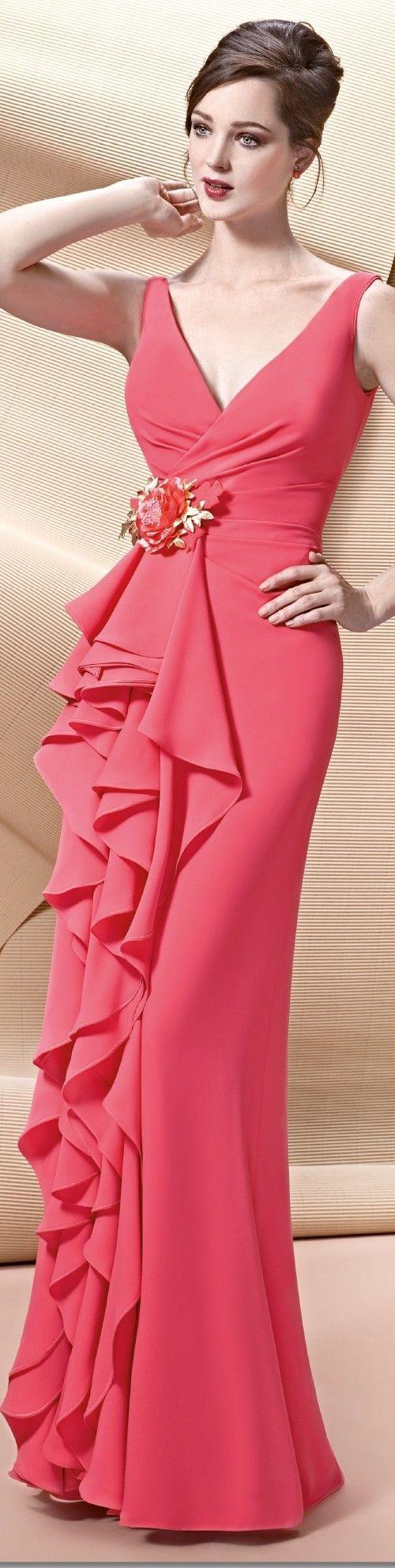 Hermoso coral | vestidos para boda | Pinterest | Coral, Vestiditos y ...