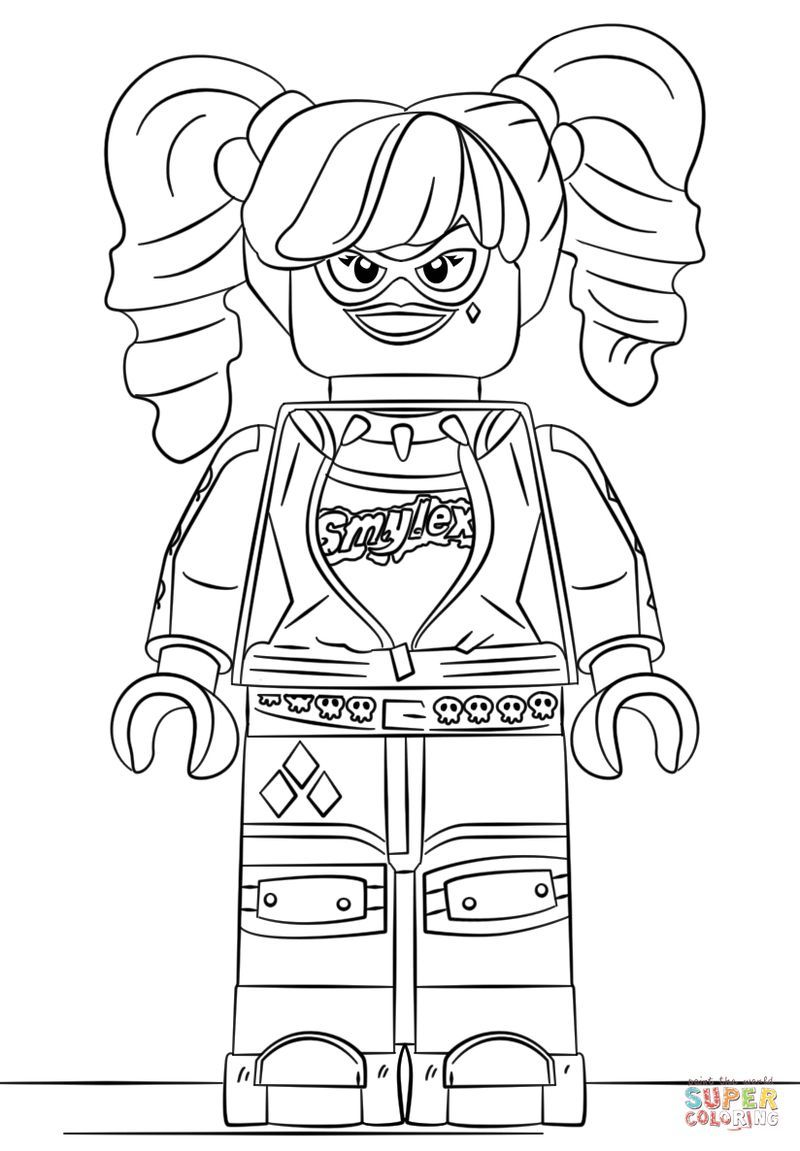 Pin On Lego Coloring Pages And Videos