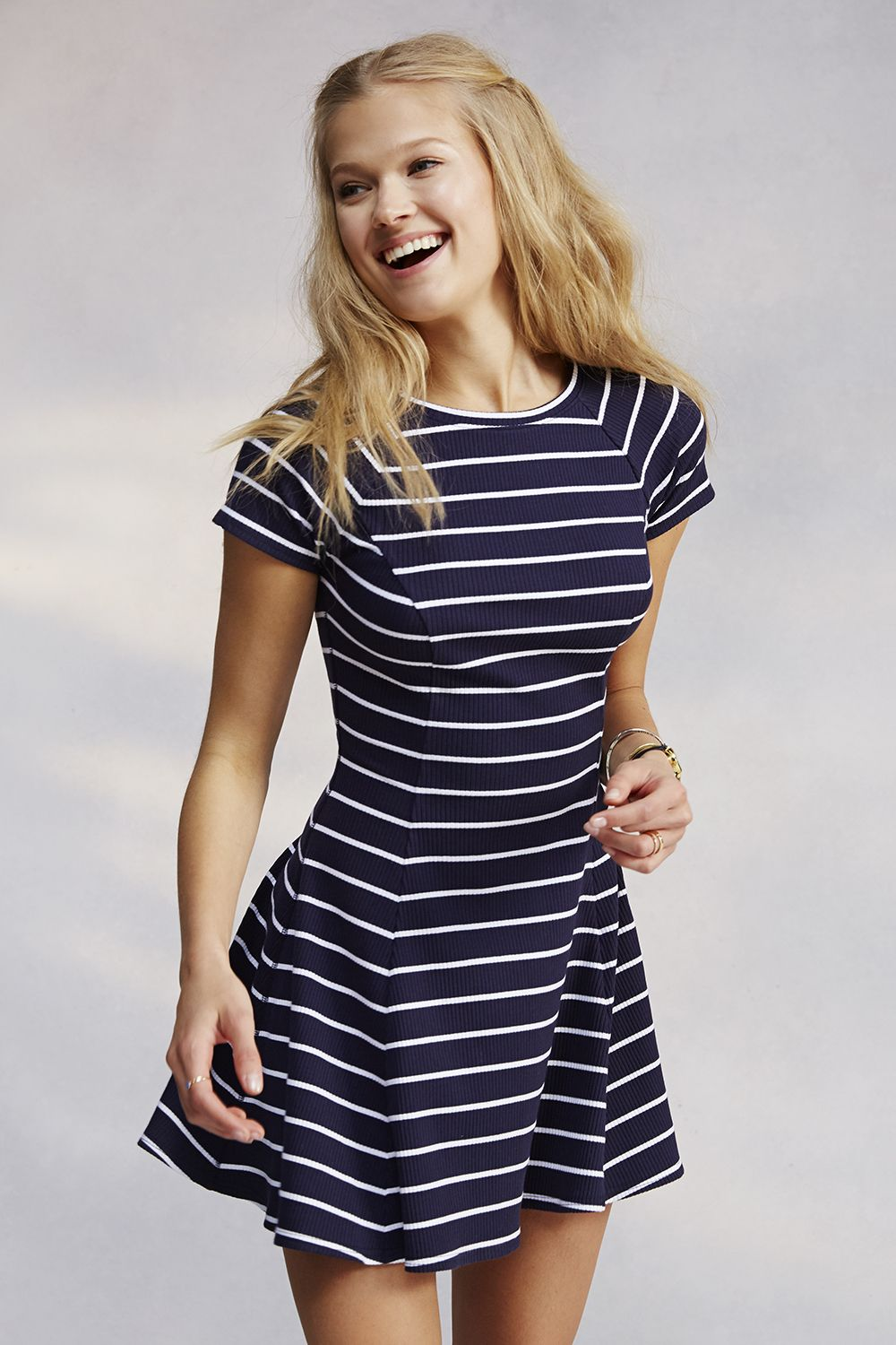 Stripes are back in. Yup...its a big deal now