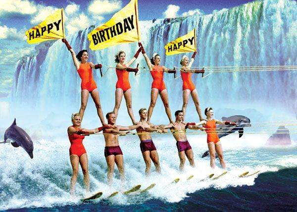 Image Result For Happy Birthday Water Skiing Pool Boy Happy Birthday Pictures Water Skiing