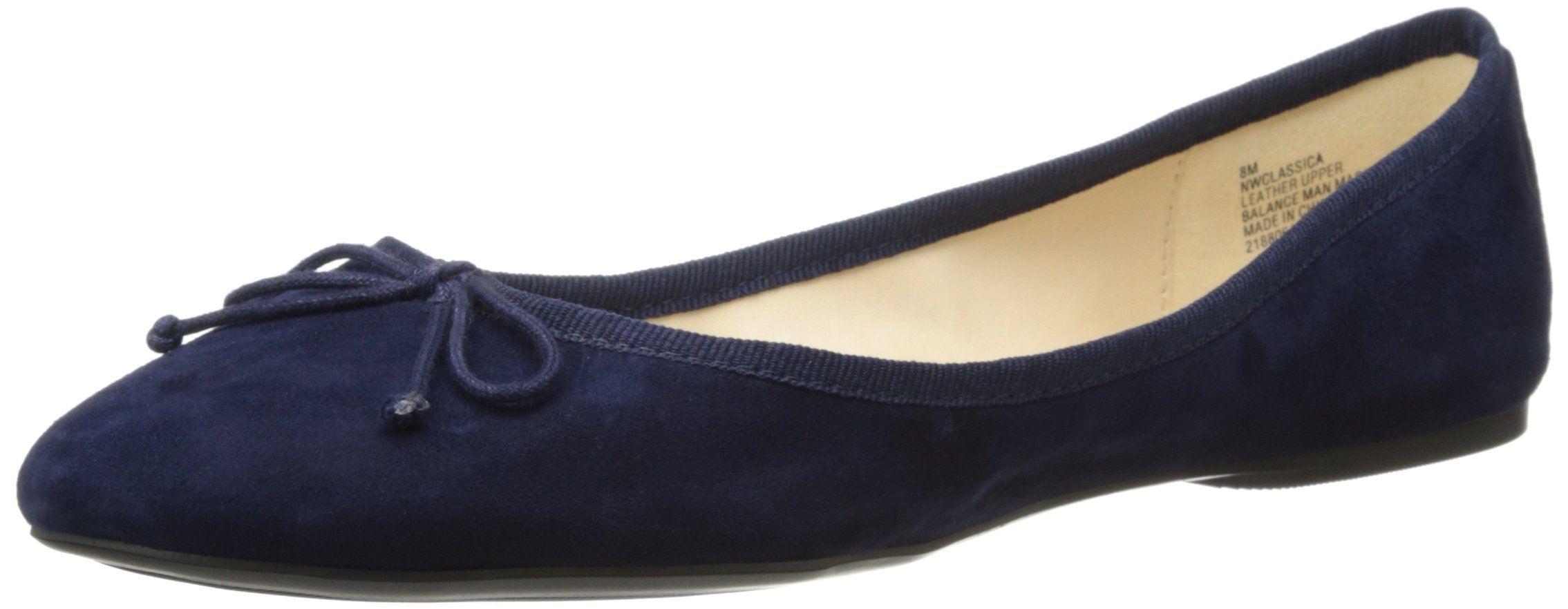 first rate fashionablestyle biggest selection Wear our Nine West Women's Classica Ballet Flat in Navy ...