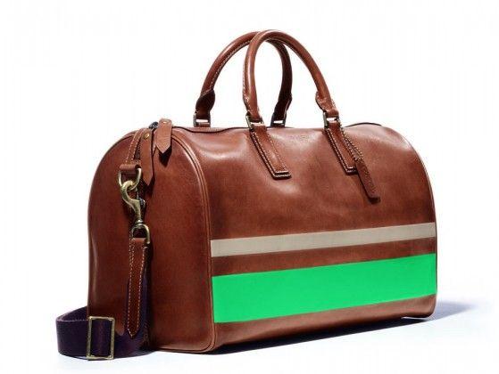 Bleecker Painted Stripe Boston Bag 2 Coach Tote Pattern