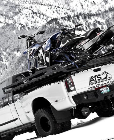 Toyup Sled Decks Snowbike Sledding Snowmobile Polaris Snowmobile