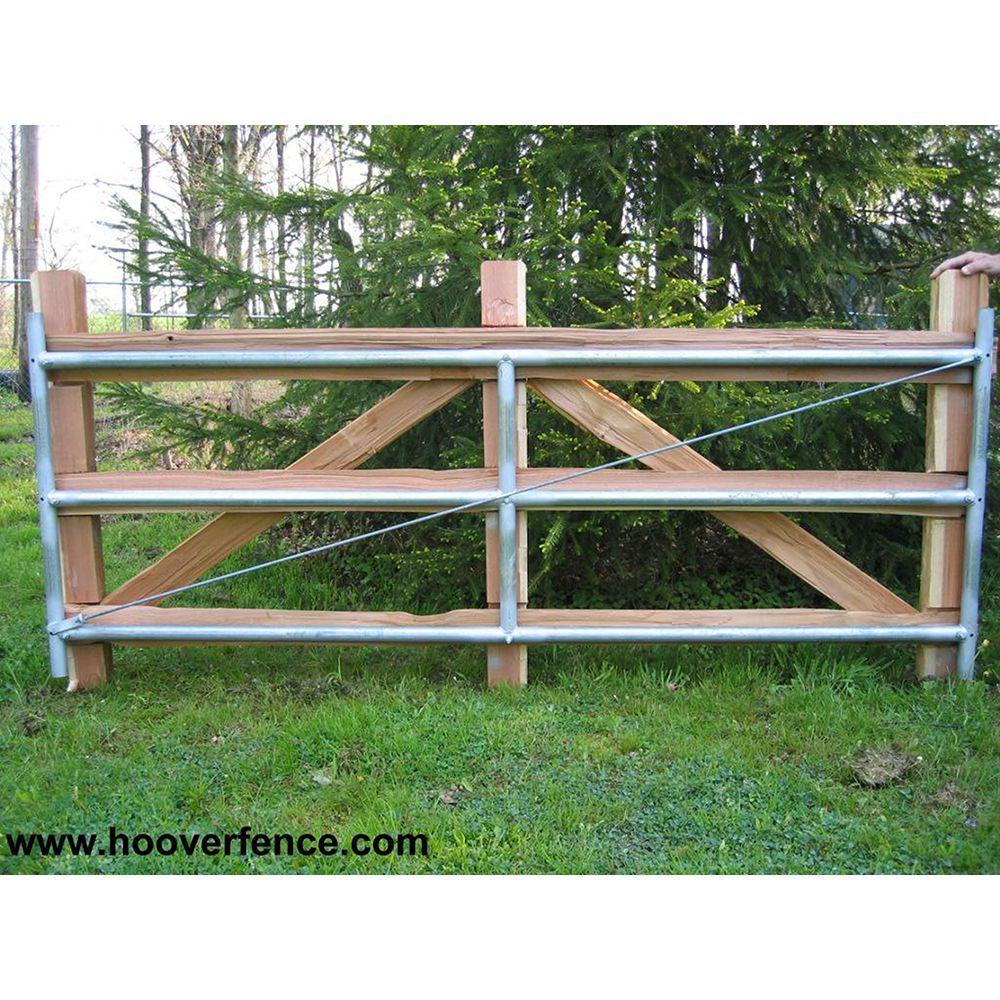 Hoover Fence Wood Split Rail Gates Western Red Cedar W Steel Frames Cedar Split Rail Fence Diy Driveway Western Red Cedar