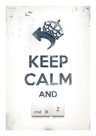 Keep calm and undoby Pawel Kadysz